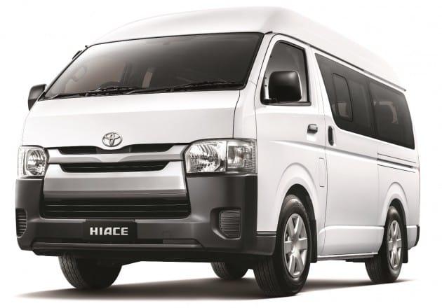 03c89faa79 12 Seater Minibus Toyota Hiace or Similar